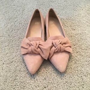 Pink Shoes with a Bow